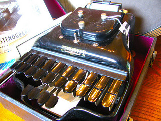 stenotype machine